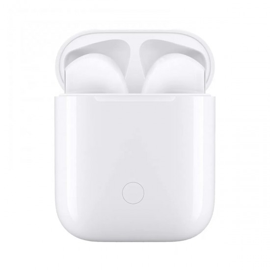 i12 Headphones - White - Touch Controls